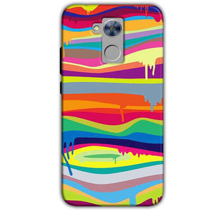 Honor Holly 4 Plus Mobile Covers Cases Melted colours - Lowest Price - Paybydaddy.com