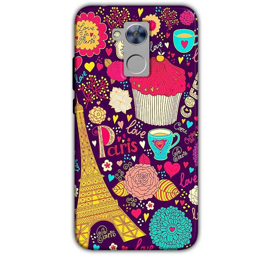 Honor Holly 4 Plus Mobile Covers Cases Paris Sweet love - Lowest Price - Paybydaddy.com