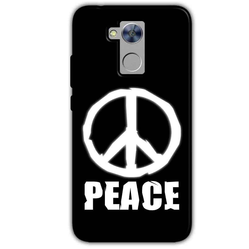 Honor Holly 4 Plus Mobile Covers Cases Peace Sign In White - Lowest Price - Paybydaddy.com