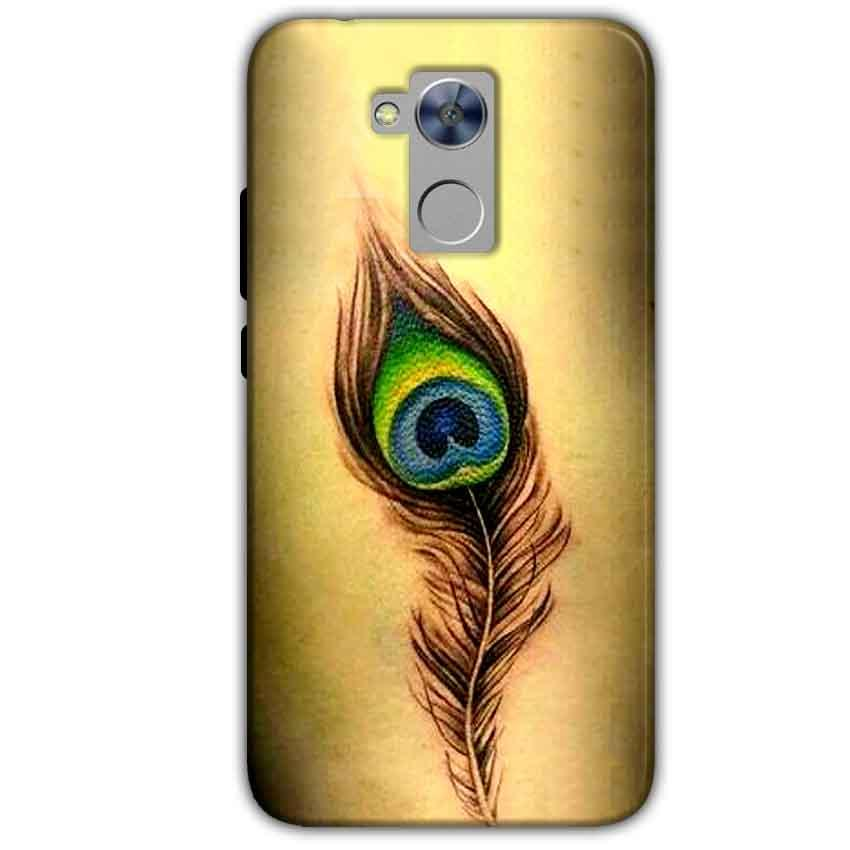 Honor Holly 4 Plus Mobile Covers Cases Peacock coloured art - Lowest Price - Paybydaddy.com