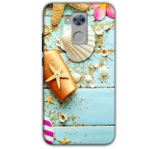 Honor Holly 4 Plus Mobile Covers Cases Pearl Star Fish - Lowest Price - Paybydaddy.com