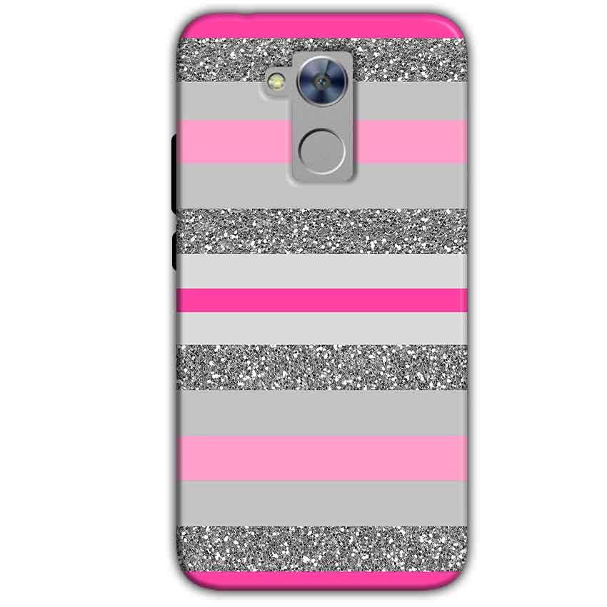 Honor Holly 4 Plus Mobile Covers Cases Pink colour pattern - Lowest Price - Paybydaddy.com
