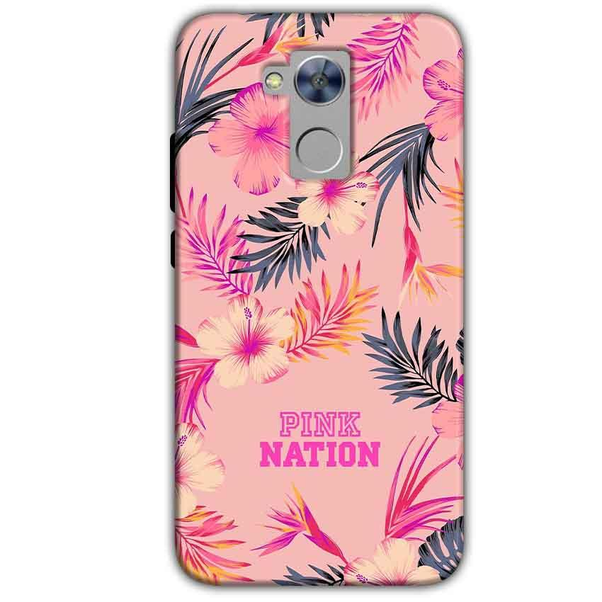 Honor Holly 4 Plus Mobile Covers Cases Pink nation - Lowest Price - Paybydaddy.com