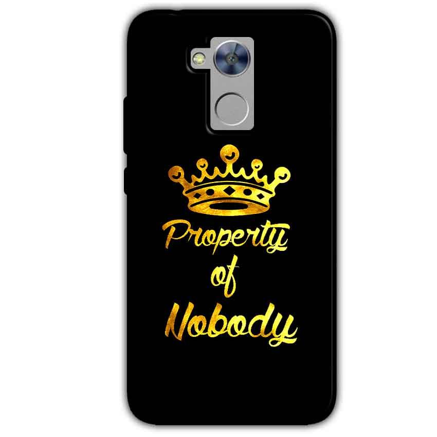Honor Holly 4 Plus Mobile Covers Cases Property of nobody with Crown - Lowest Price - Paybydaddy.com