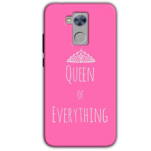 Honor Holly 4 Plus Mobile Covers Cases Queen Of Everything Pink White - Lowest Price - Paybydaddy.com