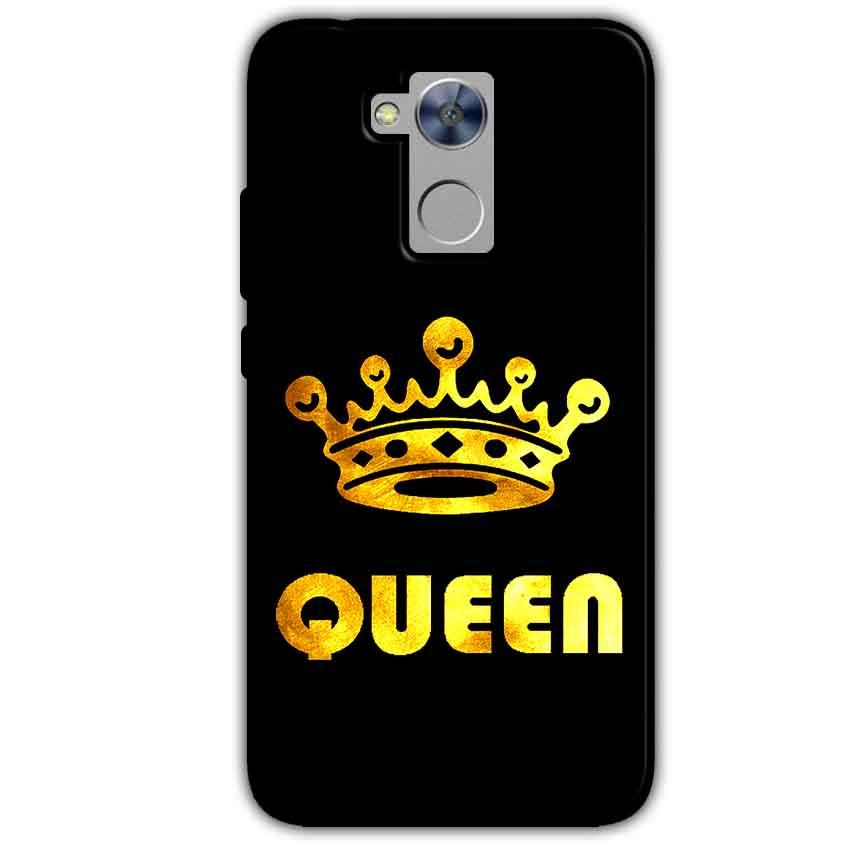 Honor Holly 4 Plus Mobile Covers Cases Queen With Crown in gold - Lowest Price - Paybydaddy.com