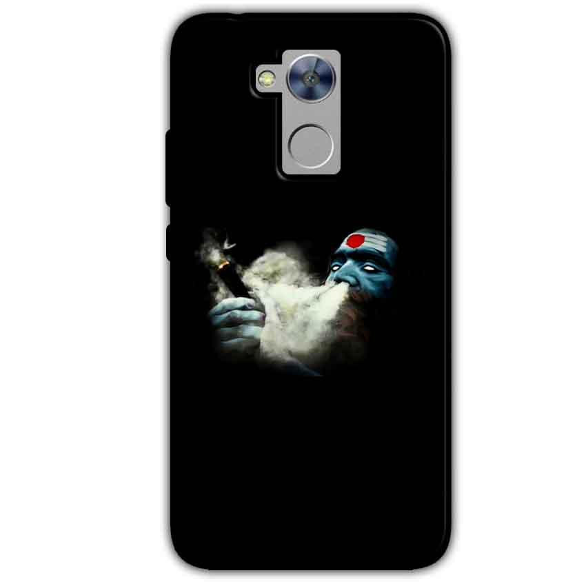 Honor Holly 4 Plus Mobile Covers Cases Shiva Aghori Smoking - Lowest Price - Paybydaddy.com