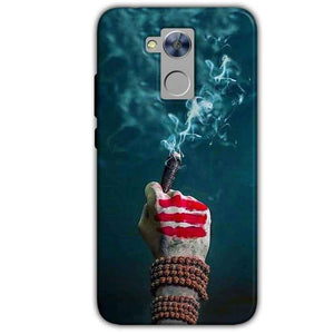 Honor Holly 4 Plus Mobile Covers Cases Shiva Hand With Clilam - Lowest Price - Paybydaddy.com