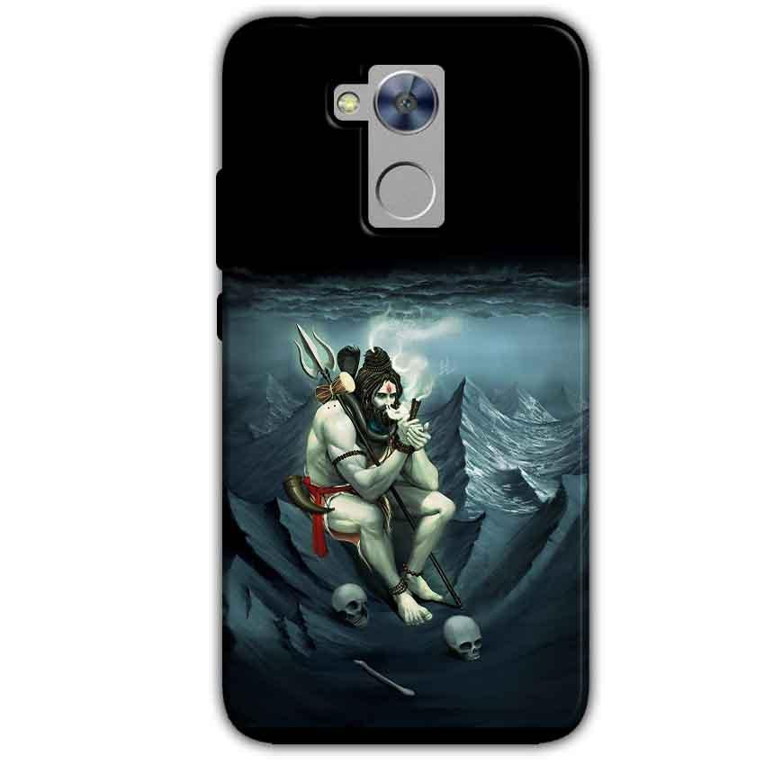 Honor Holly 4 Plus Mobile Covers Cases Shiva Smoking - Lowest Price - Paybydaddy.com