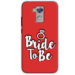 Honor Holly 4 Plus Mobile Covers Cases bride to be with ring - Lowest Price - Paybydaddy.com