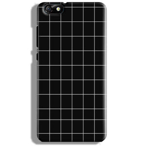 Huawei Honor 4X Mobile Covers Cases Black with White Checks - Lowest Price - Paybydaddy.com