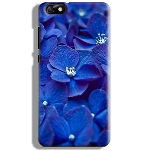 Huawei Honor 4X Mobile Covers Cases Blue flower - Lowest Price - Paybydaddy.com