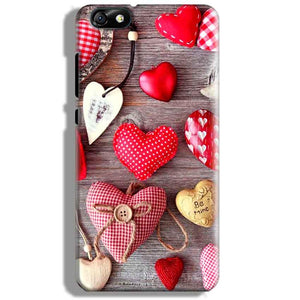 Huawei Honor 4X Mobile Covers Cases Hearts- Lowest Price - Paybydaddy.com