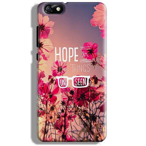 Huawei Honor 4X Mobile Covers Cases Hope in the Things Unseen- Lowest Price - Paybydaddy.com