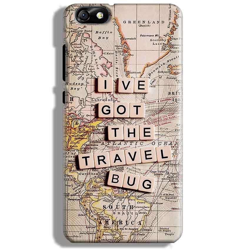 Huawei Honor 4X Mobile Covers Cases Live Travel Bug - Lowest Price - Paybydaddy.com