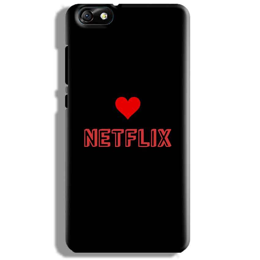 Huawei Honor 4X Mobile Covers Cases NETFLIX WITH HEART - Lowest Price - Paybydaddy.com