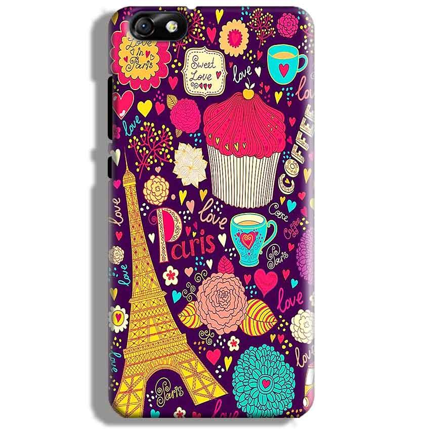 Huawei Honor 4X Mobile Covers Cases Paris Sweet love - Lowest Price - Paybydaddy.com