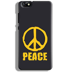 Huawei Honor 4X Mobile Covers Cases Peace Blue Yellow - Lowest Price - Paybydaddy.com