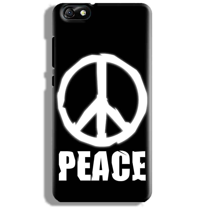 Huawei Honor 4X Mobile Covers Cases Peace Sign In White - Lowest Price - Paybydaddy.com