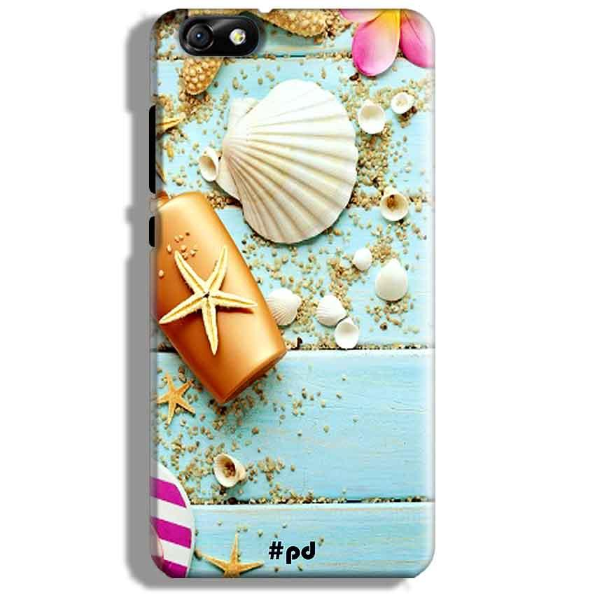 Huawei Honor 4X Mobile Covers Cases Pearl Star Fish - Lowest Price - Paybydaddy.com