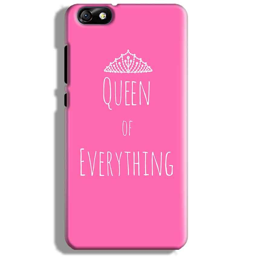 Huawei Honor 4X Mobile Covers Cases Queen Of Everything Pink White - Lowest Price - Paybydaddy.com