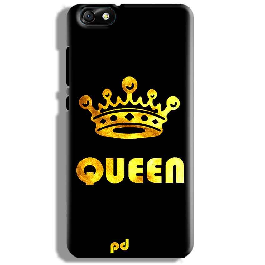 Huawei Honor 4X Mobile Covers Cases Queen With Crown in gold - Lowest Price - Paybydaddy.com