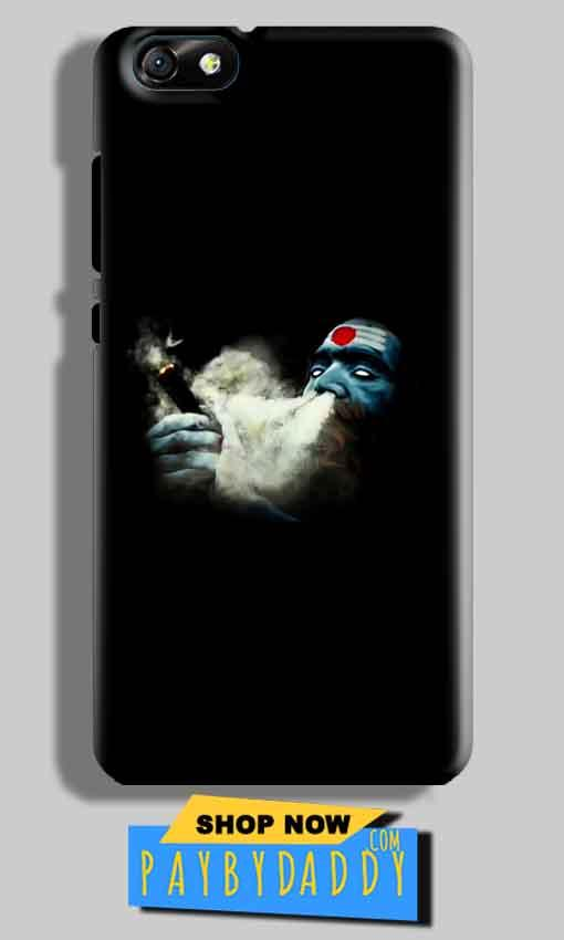Huawei Honor 4X Mobile Covers Cases Shiva Aghori Smoking - Lowest Price - Paybydaddy.com