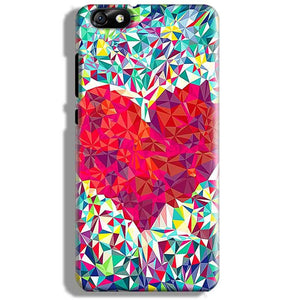 Huawei Honor 4X Mobile Covers Cases heart Prisma design - Lowest Price - Paybydaddy.com