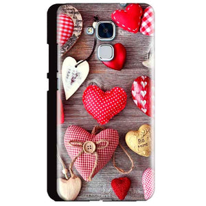 Huawei Honor 5C Mobile Covers Cases Hearts- Lowest Price - Paybydaddy.com