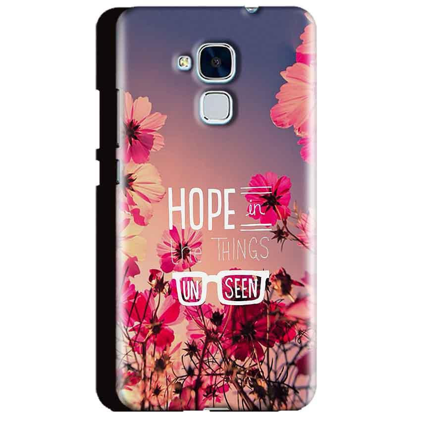 Huawei Honor 5C Mobile Covers Cases Hope in the Things Unseen- Lowest Price - Paybydaddy.com