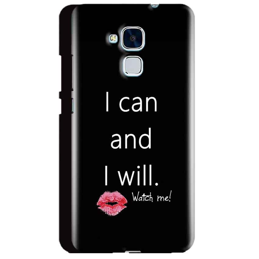 Huawei Honor 5C Mobile Covers Cases i can and i will Lips - Lowest Price - Paybydaddy.com