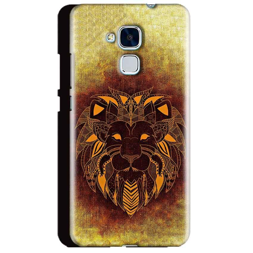 Huawei Honor 5C Mobile Covers Cases Lion face art - Lowest Price - Paybydaddy.com