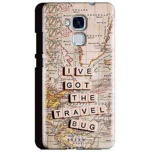 Huawei Honor 5C Mobile Covers Cases Live Travel Bug - Lowest Price - Paybydaddy.com