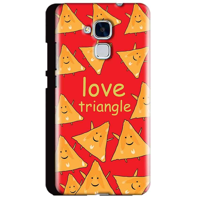 Huawei Honor 5C Mobile Covers Cases Love Triangle - Lowest Price - Paybydaddy.com