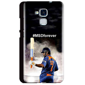 Huawei Honor 5C Mobile Covers Cases MS dhoni Forever - Lowest Price - Paybydaddy.com