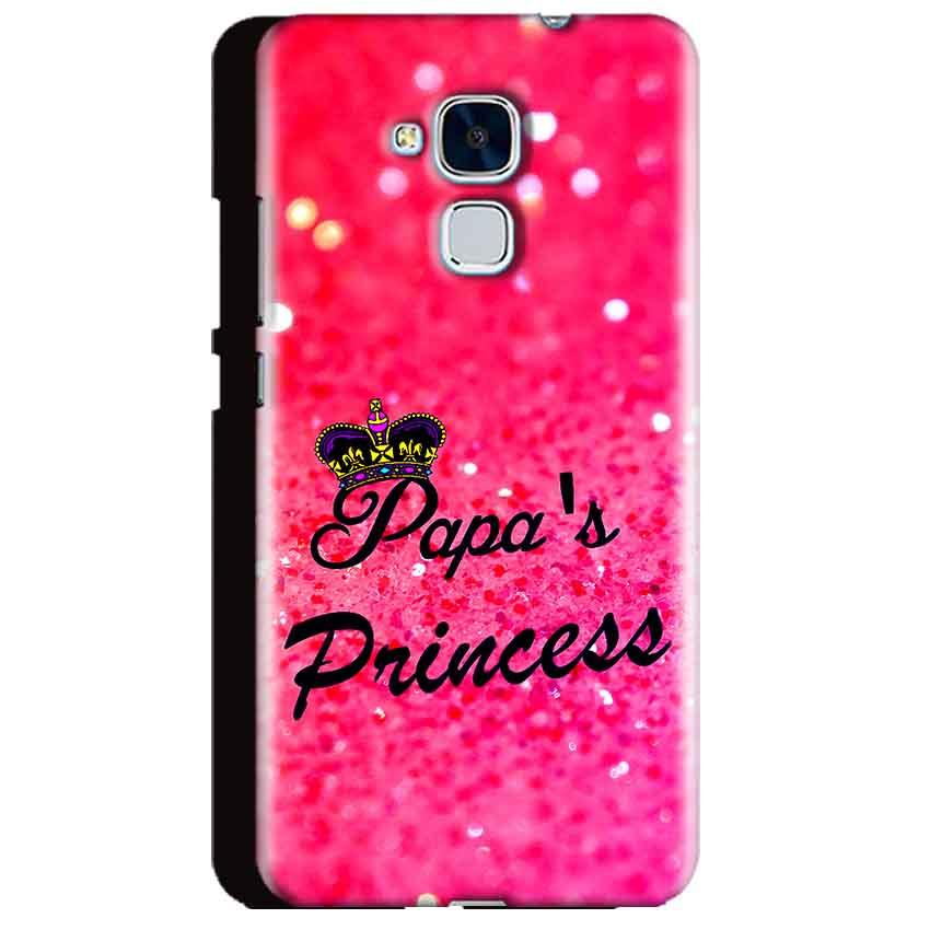 Huawei Honor 5C Mobile Covers Cases PAPA PRINCESS - Lowest Price - Paybydaddy.com