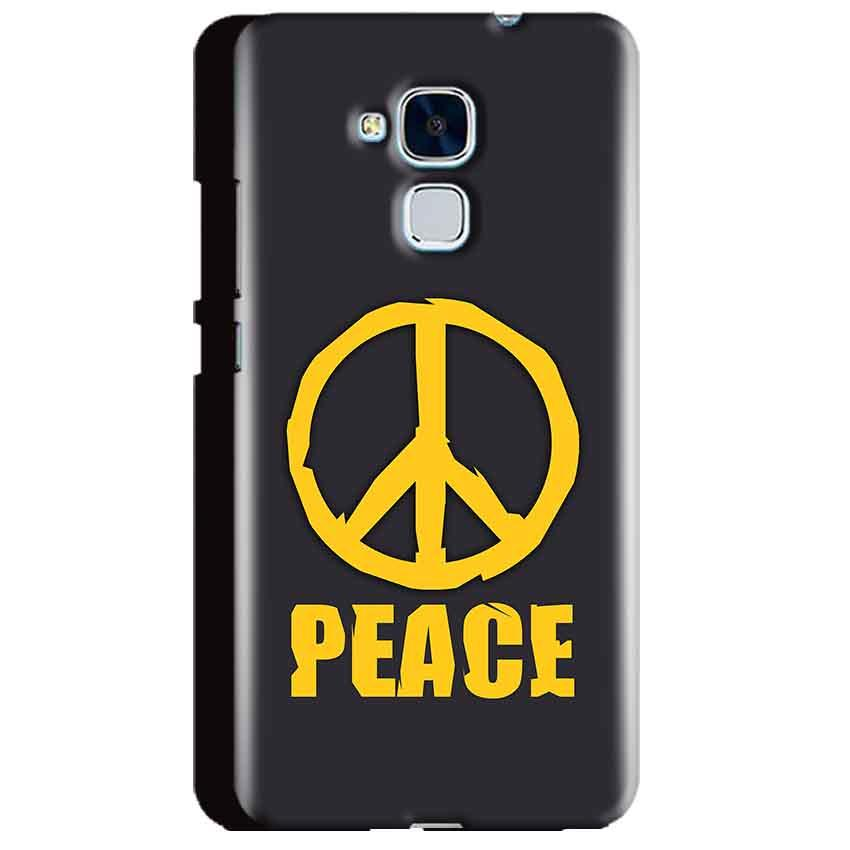 Huawei Honor 5C Mobile Covers Cases Peace Blue Yellow - Lowest Price - Paybydaddy.com
