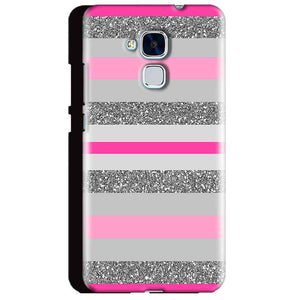 Huawei Honor 5C Mobile Covers Cases Pink colour pattern - Lowest Price - Paybydaddy.com