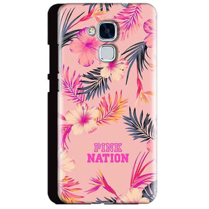 Huawei Honor 5C Mobile Covers Cases Pink nation - Lowest Price - Paybydaddy.com