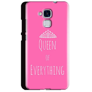 Huawei Honor 5C Mobile Covers Cases Queen Of Everything Pink White - Lowest Price - Paybydaddy.com