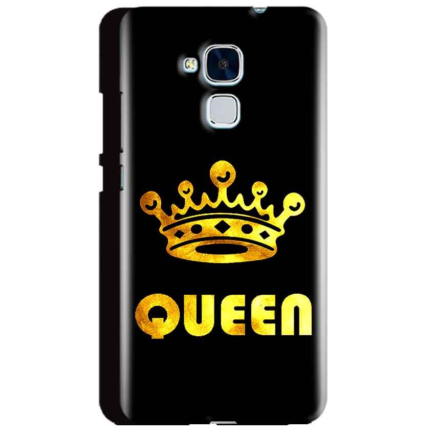 Huawei Honor 5C Mobile Covers Cases Queen With Crown in gold - Lowest Price - Paybydaddy.com