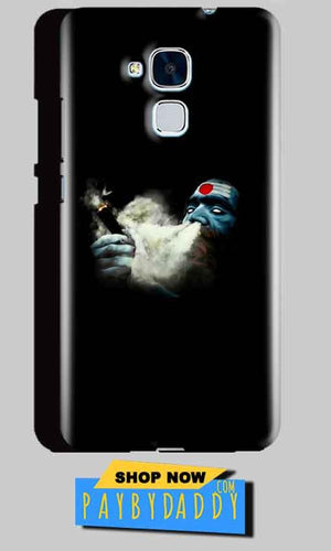 Huawei Honor 5C Mobile Covers Cases Shiva Aghori Smoking - Lowest Price - Paybydaddy.com
