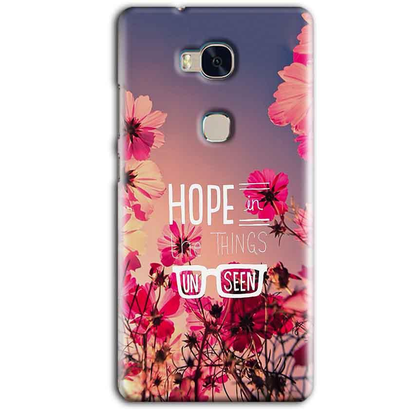 Huawei Honor 5X Mobile Covers Cases Hope in the Things Unseen- Lowest Price - Paybydaddy.com