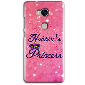 Huawei Honor 5X Mobile Covers Cases Hubbies Princess - Lowest Price - Paybydaddy.com