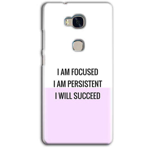 Huawei Honor 5X Mobile Covers Cases I am Focused - Lowest Price - Paybydaddy.com