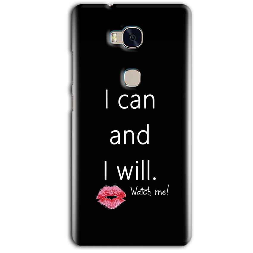 Huawei Honor 5X Mobile Covers Cases i can and i will Lips - Lowest Price - Paybydaddy.com
