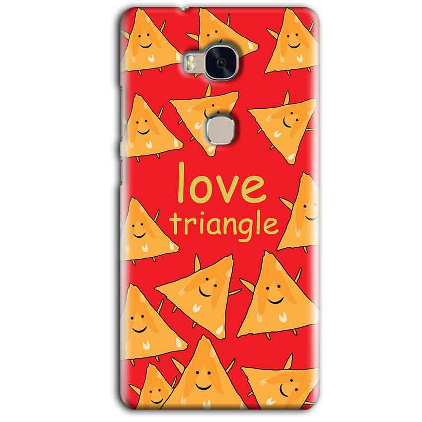 Huawei Honor 5X Mobile Covers Cases Love Triangle - Lowest Price - Paybydaddy.com
