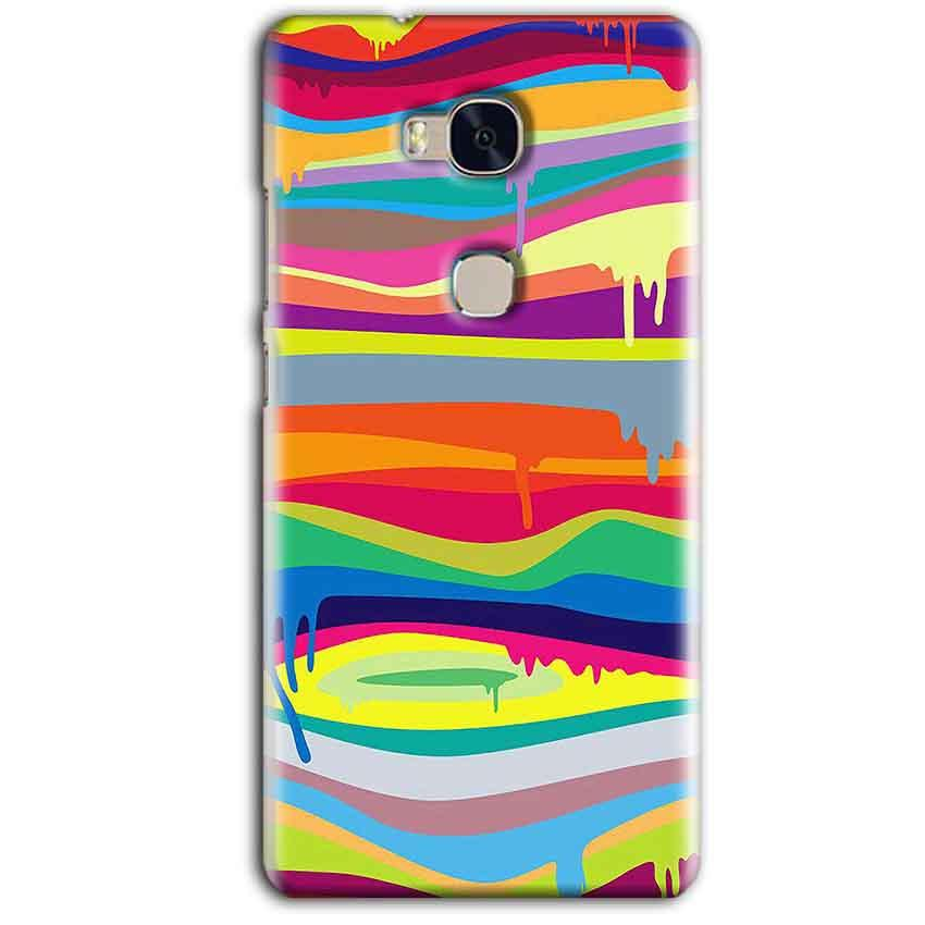 Huawei Honor 5X Mobile Covers Cases Melted colours - Lowest Price - Paybydaddy.com