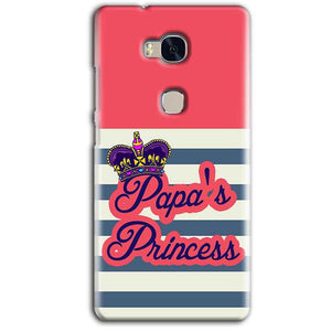 Huawei Honor 5X Mobile Covers Cases Papas Princess - Lowest Price - Paybydaddy.com