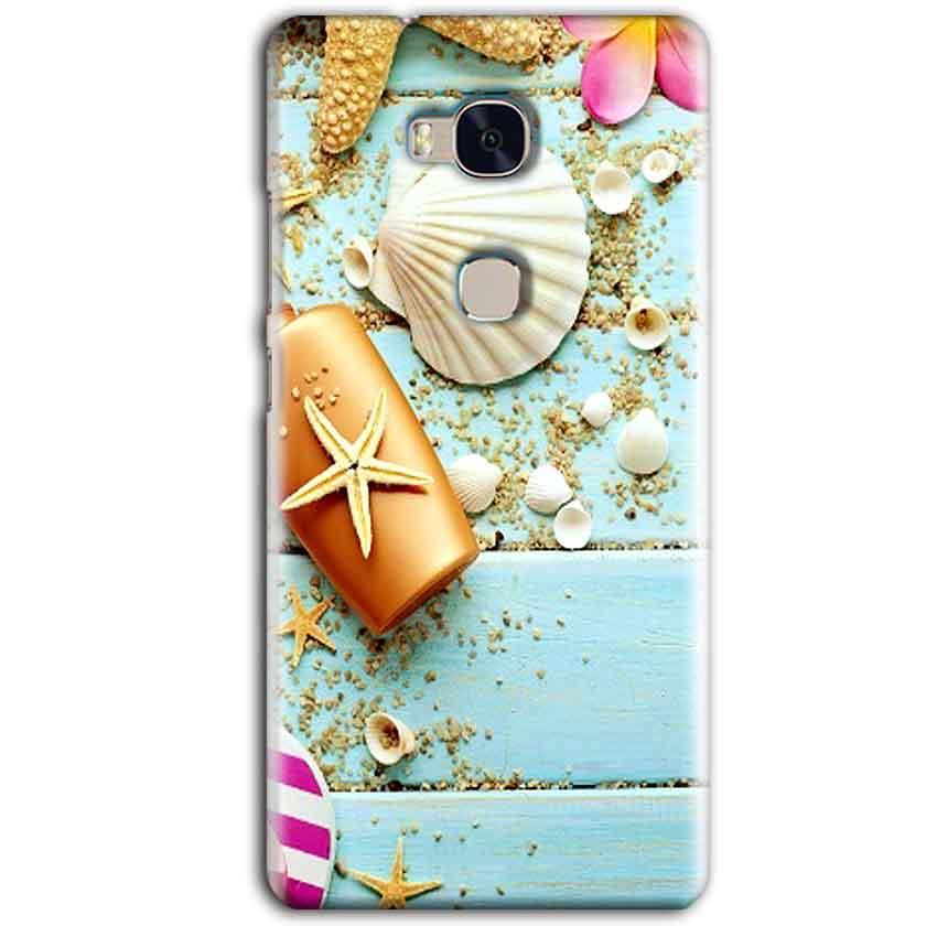 Huawei Honor 5X Mobile Covers Cases Pearl Star Fish - Lowest Price - Paybydaddy.com